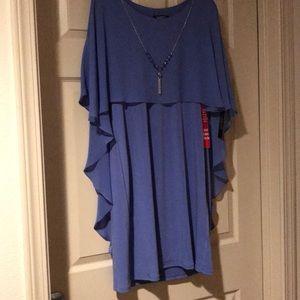Dark Lavender Bluish dress!